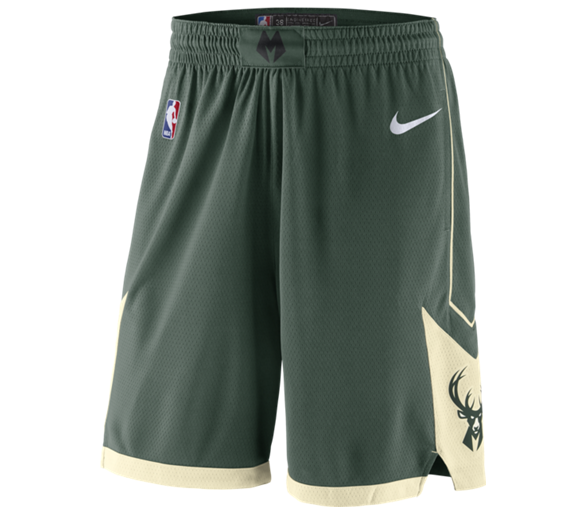 Swingman Short Nba Bucks Icon Edition Milwaukee