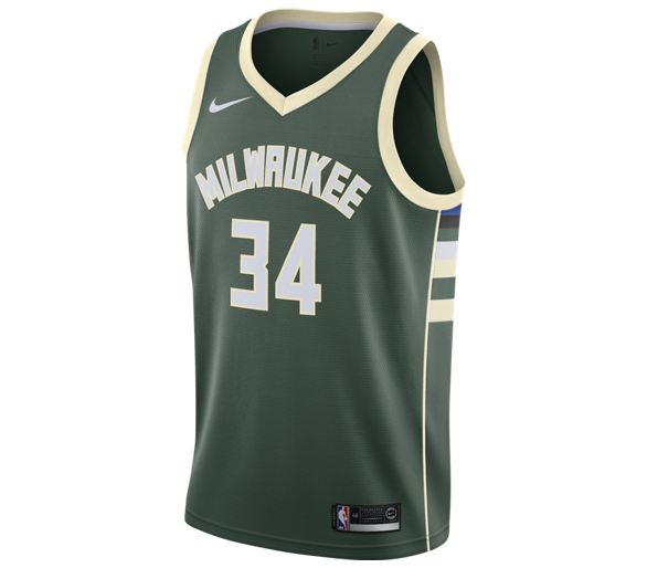 Swingman Nba Bucks Giannis Icon Edition Milwaukee Bucks