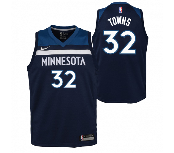 Maillot Nba Enfant Towns Timberwolves Swingman Icon