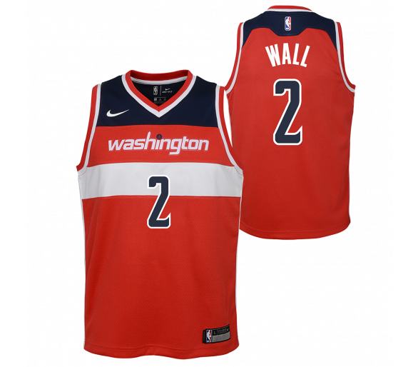 Maillot Nba Enfant Wall Wizards Swingman Icon