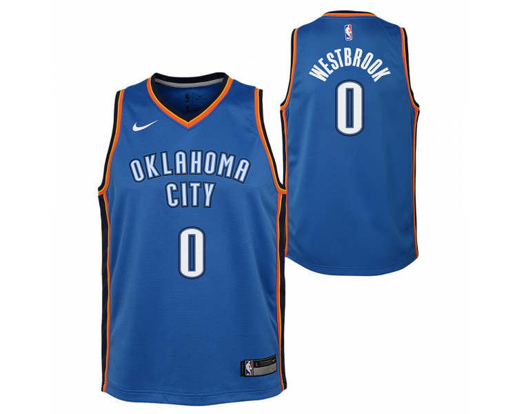 Maillot Nba Enfant Westbrook Thunder Swingman Icon