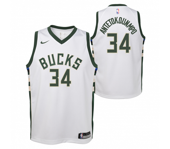 Maillot Nba Enfant Antetokounm Po Bucks Swingman Association