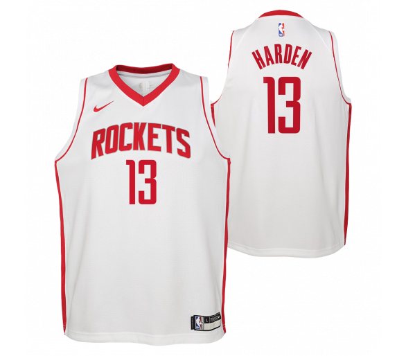Maillot Nba Enfant Harden Rock Ets Swingman Association
