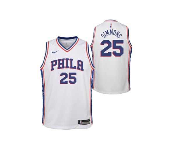 Maillot Nba Enfant Simmons Phila Swingman Association