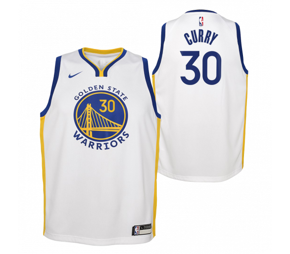 Maillot Nba Enfant Curry Warriors Association Edition