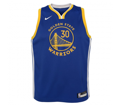 Maillot Nba Enfant Curry Warriors Swingman Icon