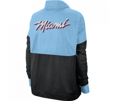 Snap Jacket Nba Heat Ce City Edition Miami