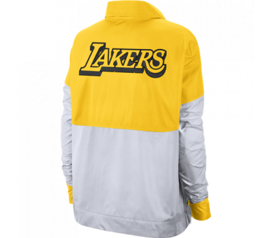 Snap Jacket Nba Lakers Ce City Edition Los Angeles