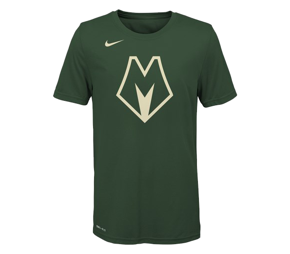 T-shirt Nba Enfant Bucks City Edition