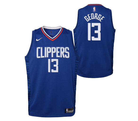 Maillot Nba Enfant Georges Icon Edition L.a. Clippers