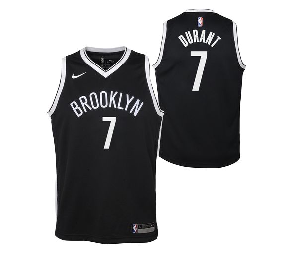 Maillot Nba Enfant Durant Brooklyn Swingman Icon