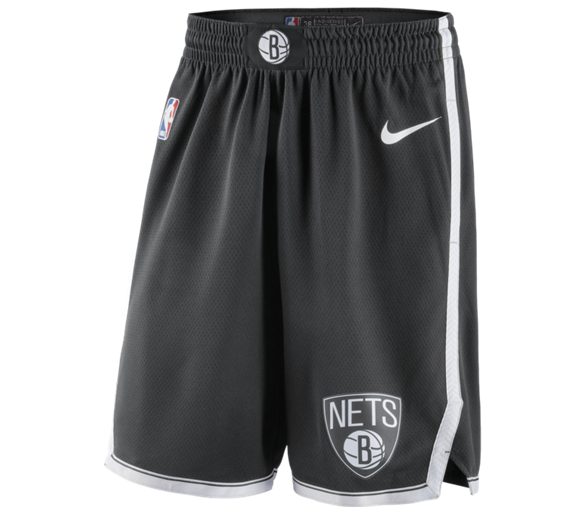 Swingman Short Nba Nets City Edition Brooklyn