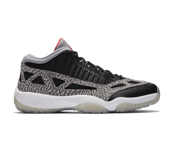 Air Jordan 11 Retro Low Ie Black/cement