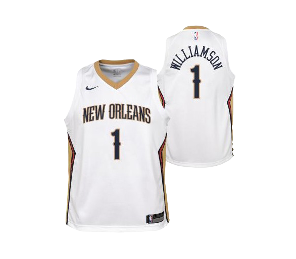 Maillot Nba Enfant Pels Zion Association Edition New Orlean