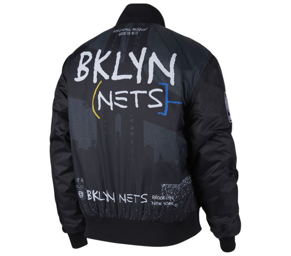 Courtside Jacket Nba Nets City Edition Brooklyn