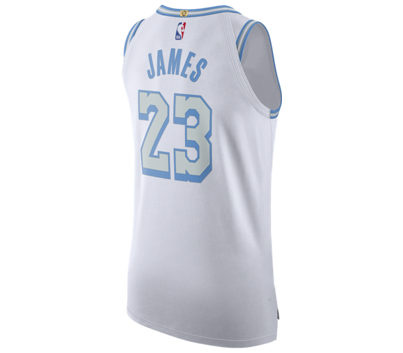 Maillot Authentic Nba James Lakers City Edition 2020