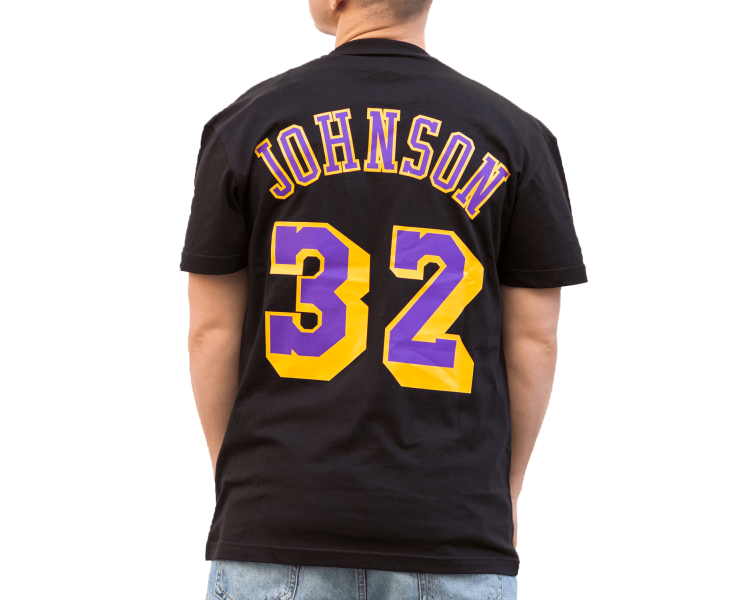 T-shirt Nba Johnson Lakers