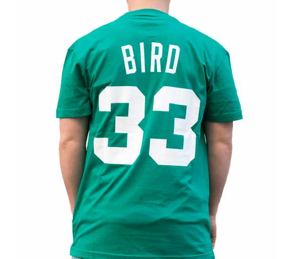 T-shirt Nba Larry Bird Celtics