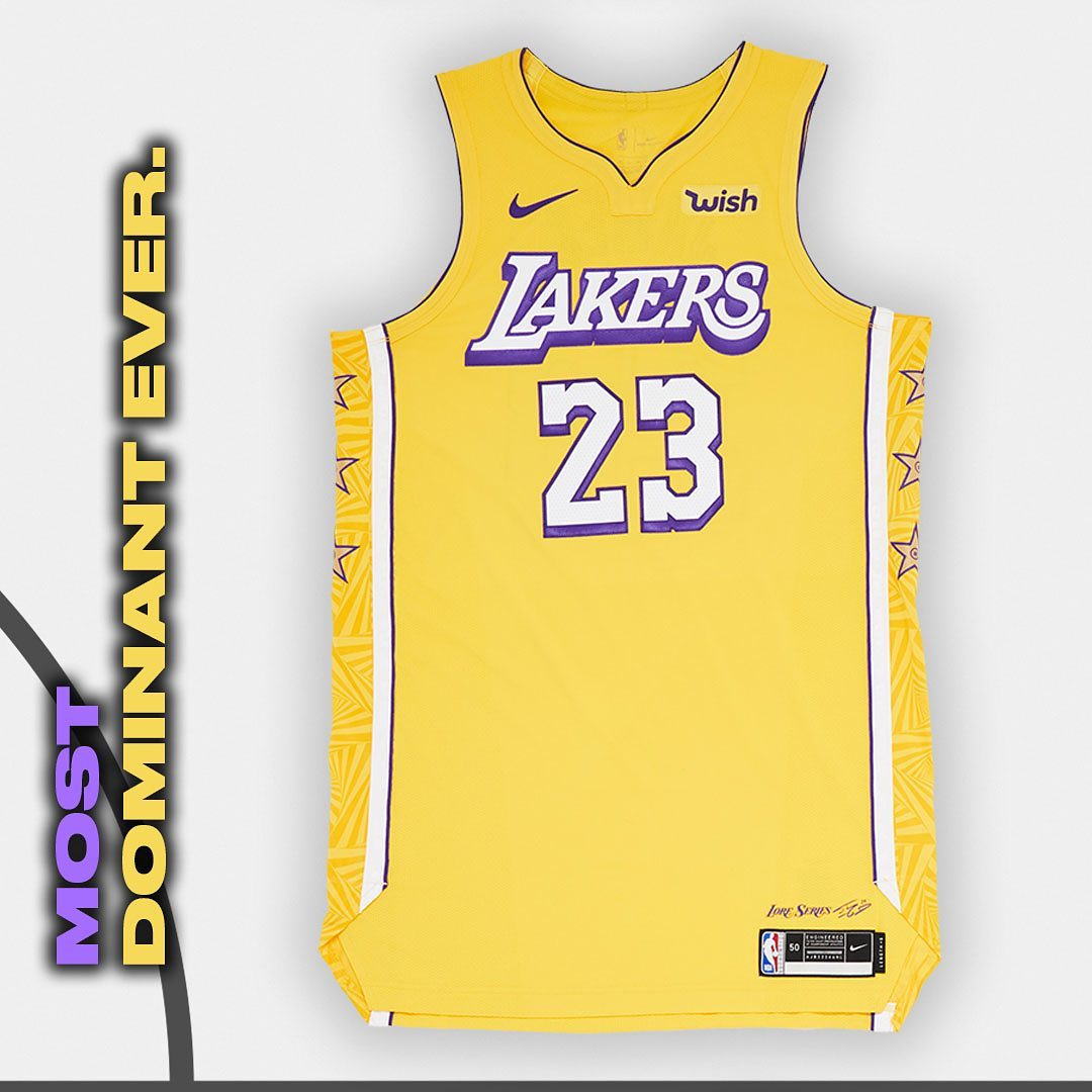 Los Angeles Lakers - City Edition
